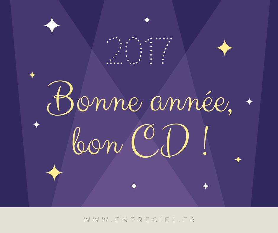 2017 : bonne année, bon CD !