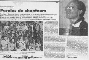 © Le Progrès   6 mai 1997
