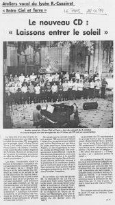 © Le Pays   22 janv. 1999