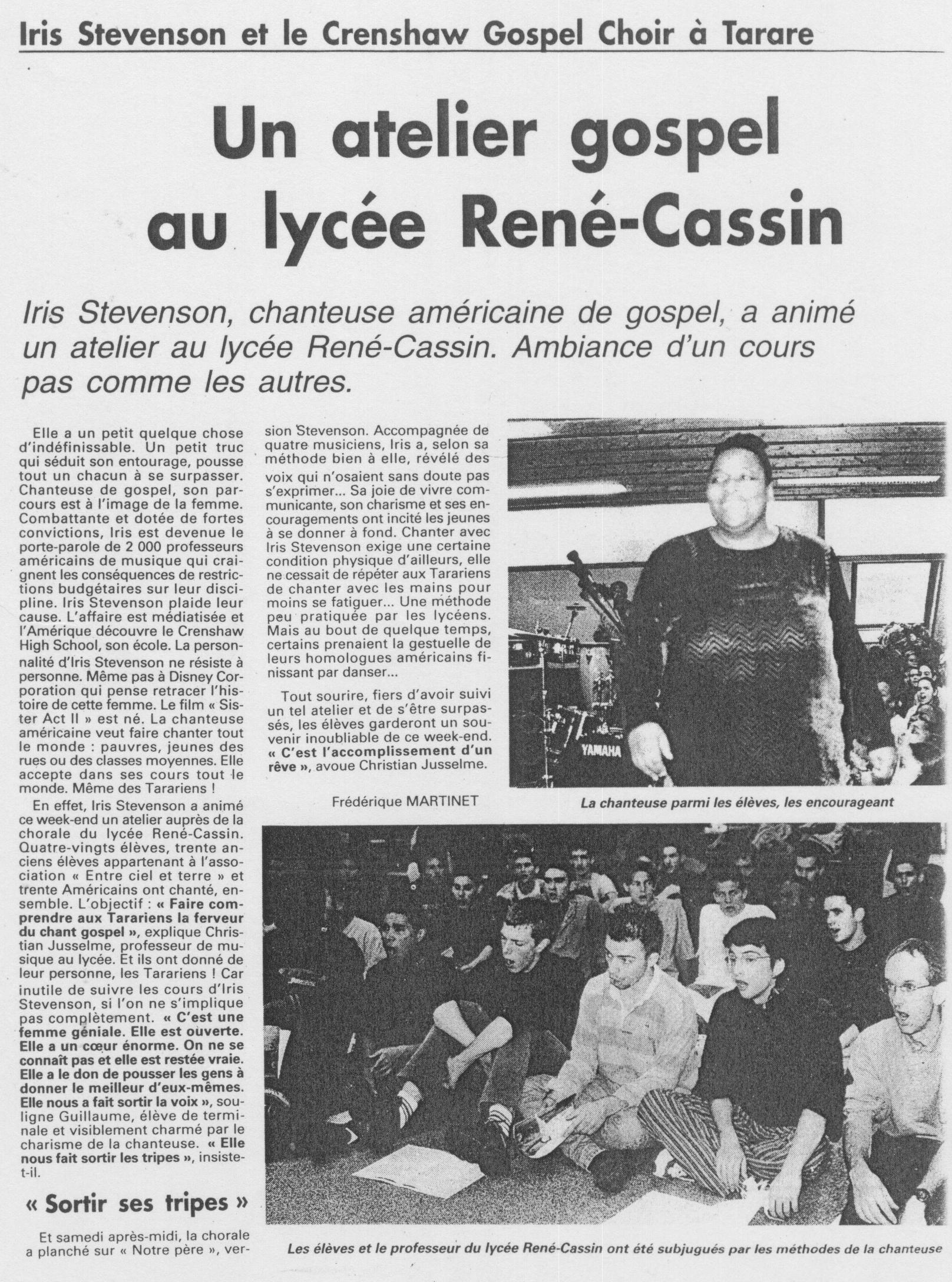 © Le Pays | 17 déc. 1999