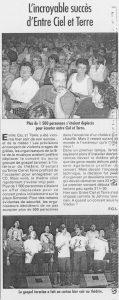 © Le Progrès   22 juin 2000