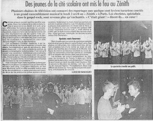 © Le Progrès   4 avril 2001