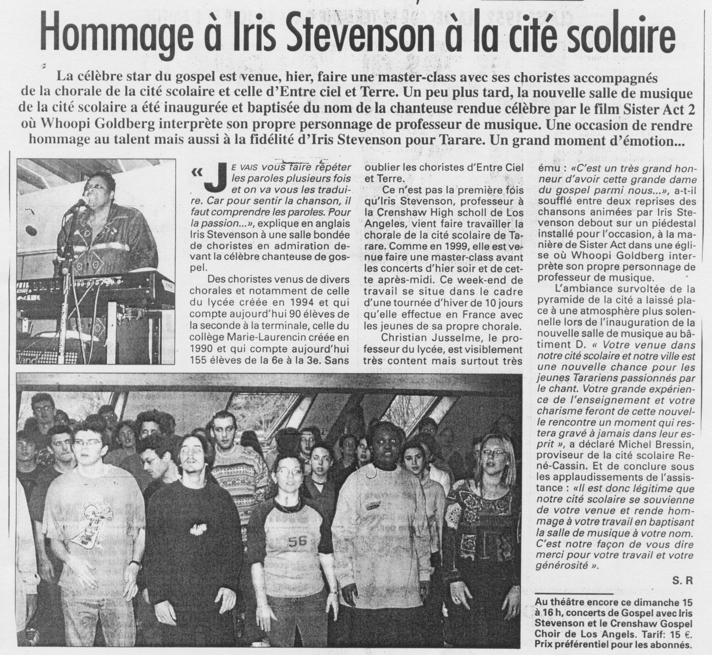 © Le Progrès | 15 déc. 2002