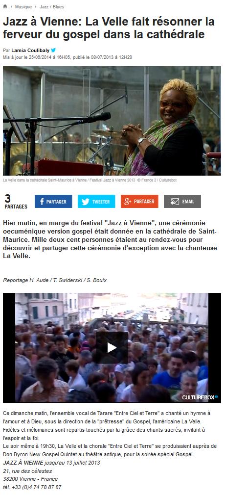 © France 3 | 8 juil. 2013