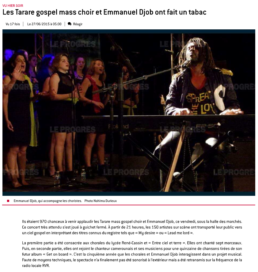 © Le Progrès | 27 juin 2015