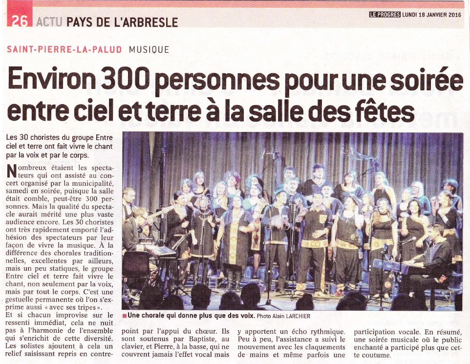 © Le Progrès | 18 janv. 2016