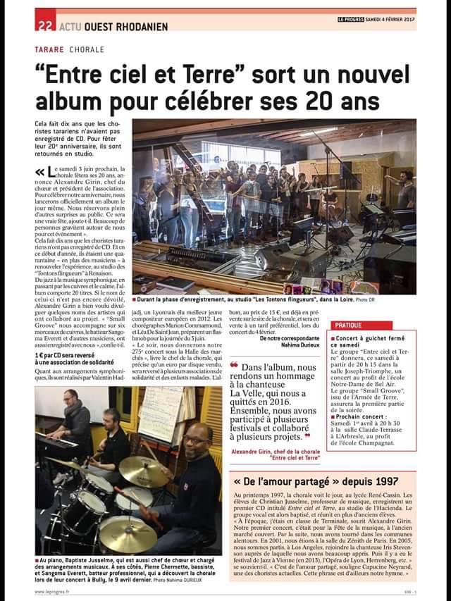 © Le Progrès | 4 fév. 2017